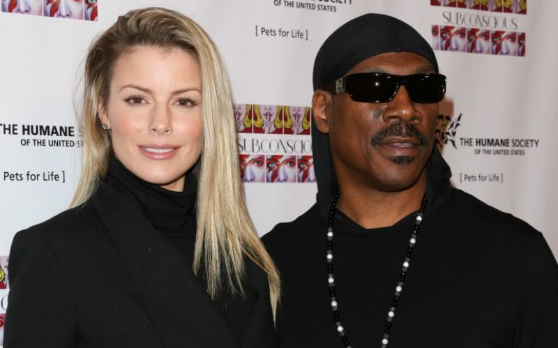 Eddie Murphy and Paige Butcher with an age gap of 18 years