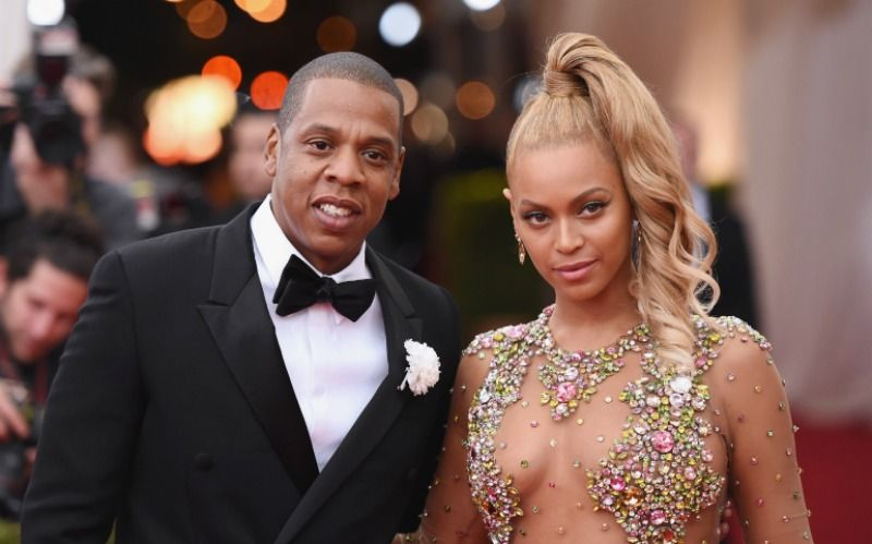 Jay-Z and Beyoncé with an age gap of 12 years