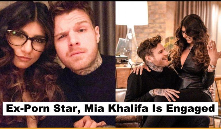 Former Adult Movie Star Mia Khalifa Got Engaged To Her Long-Term Boyfriend Robert Sandberg