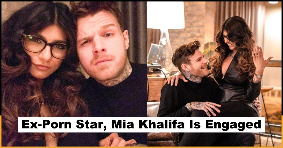 Mia khalifa engagement