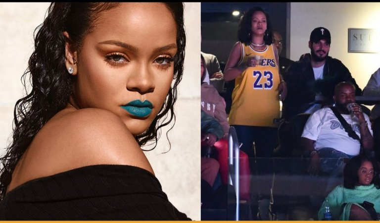 Rihanna Spotted With Her Billionaire Boyfriend On A Rare Public Date