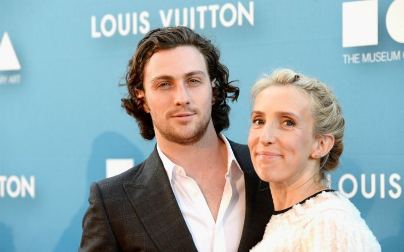 Sam and Aaron Taylor-Johnson with an age gap of 23 years
