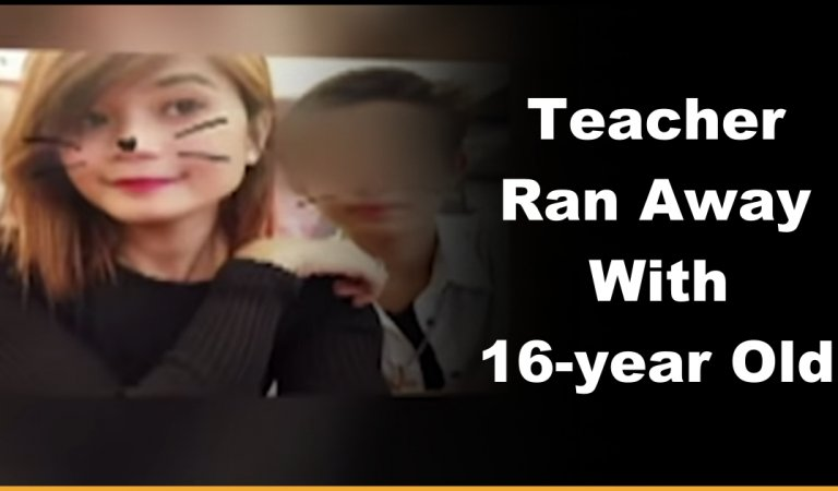 Parents Left Clueless After A Teacher Ran Away With Their 16-year Old Son!