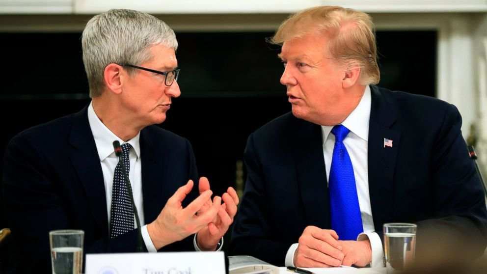 Tim Cook Changes His Name On Twitter After Donald Trump Referred Him As 'Tim Apple'
