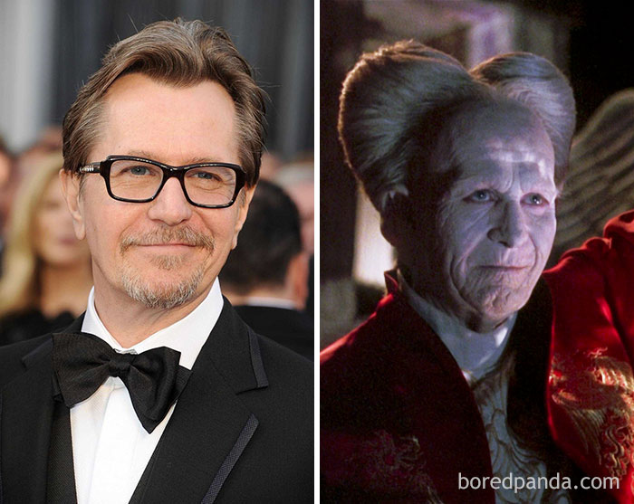 Transformations Of The Actors After Applying Movie Makeup