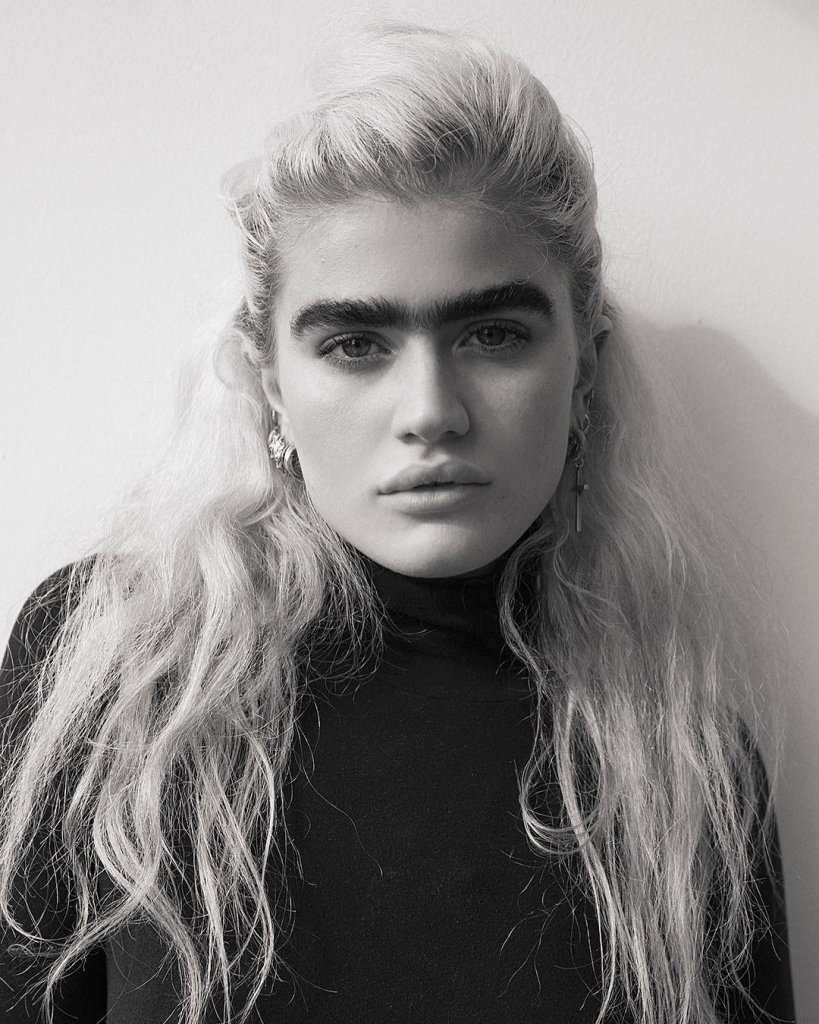 This Model Receives Death Threats Over Her Unibrows