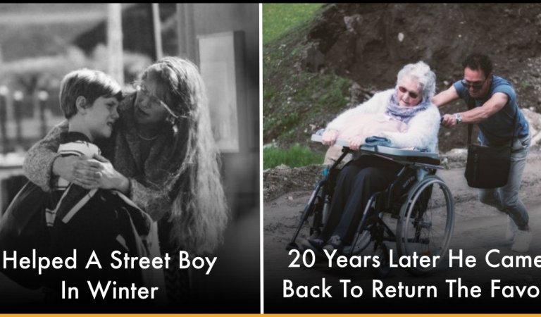 Lady Helped A Street Boy In Winter and 20 Years Later He Came Back To Return The Favor