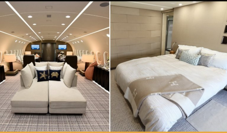 Dreamliner: A Luxury Chartered Aircraft Which is Worlds Only Privately Owned Boeing 787