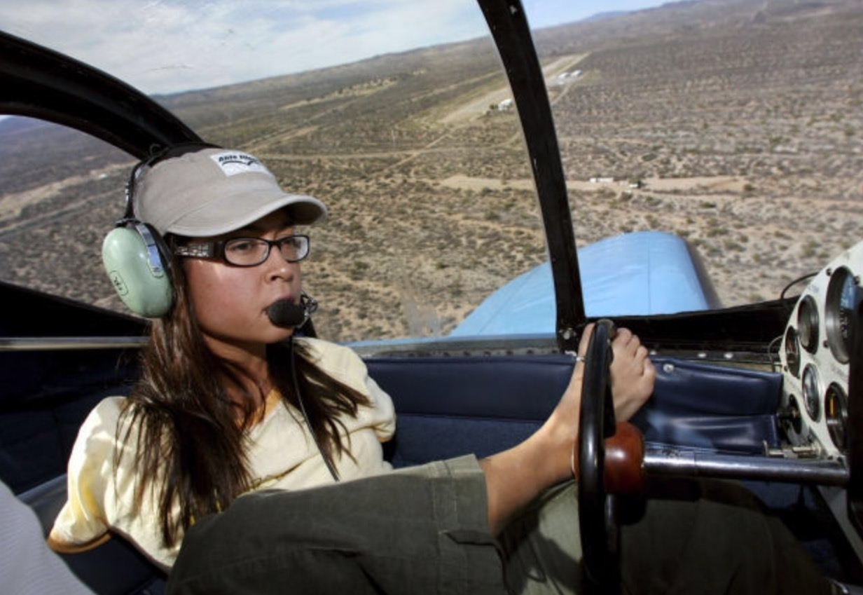 Armless Female Pilot Is Defying All Odds By Flying The Plane With Her Feet