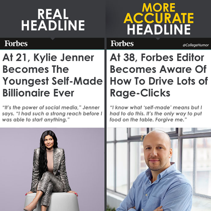 Hilarious Reactions Of Netizens After Forbes Declares Kylie Jenner As The Youngest Self-Made Billionaire