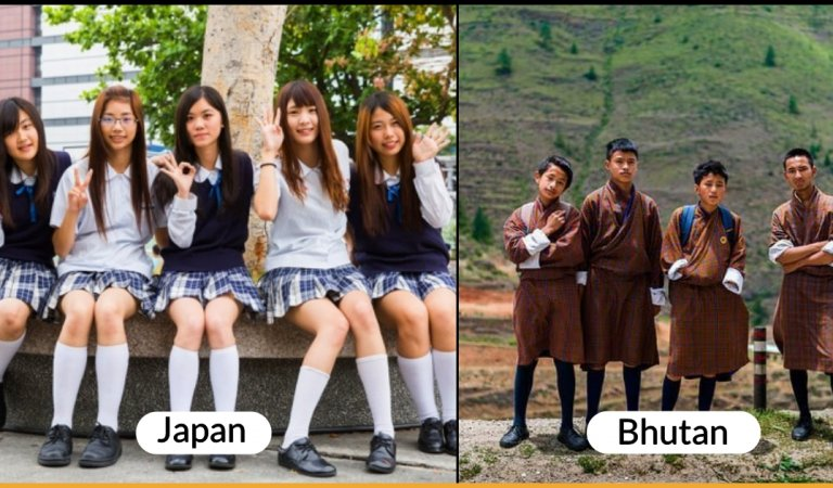 These 15 Countries Have Typical Rules For School Uniforms