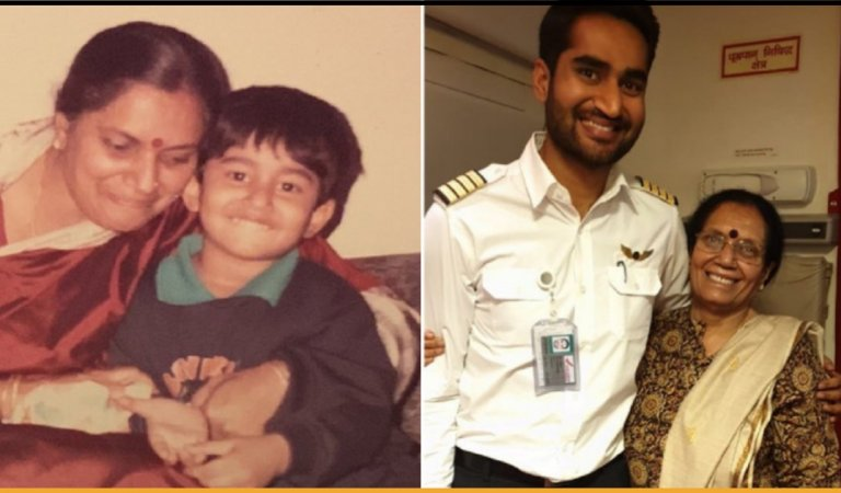 Student Introduced Himself As 'Captain' In Pre-School After 30 years Flies The Same Teacher As Pilot