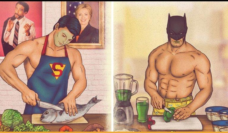 Cartoon Series Portrays The Secret Lifestyle Of Superheroes