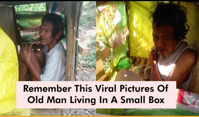 This Old Man Getting A New Home After Living In A Small Box Is Heartwarming