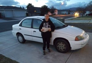 13-Year-Old Teenager Trades His Xbox And Does Yard Work To Buy Car For His Single Mother
