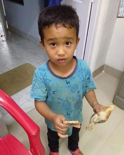Little Mizoram Boy Who Took His Neighbor's Chick To Hospital After He Accidentally Ran over It With His Cycle Now Gets Awarded With The 'Compassionate Kid' Award By PETA India