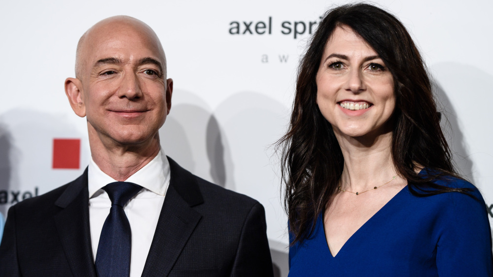 Jeff And Mackenzie Bezos Settled For The Most Expensive Divorce Ever