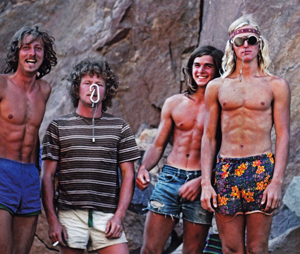 Images From 1970s Of Men Wearing Shorts