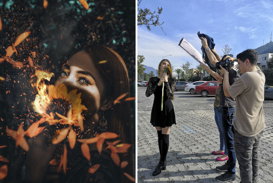 This Mexican Photographer Shows The Amazing Reality Behind Those Perfect Pictures