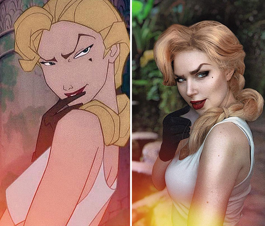 Russian Cosplayer Perfectly Transforms Herself Into Different Characters