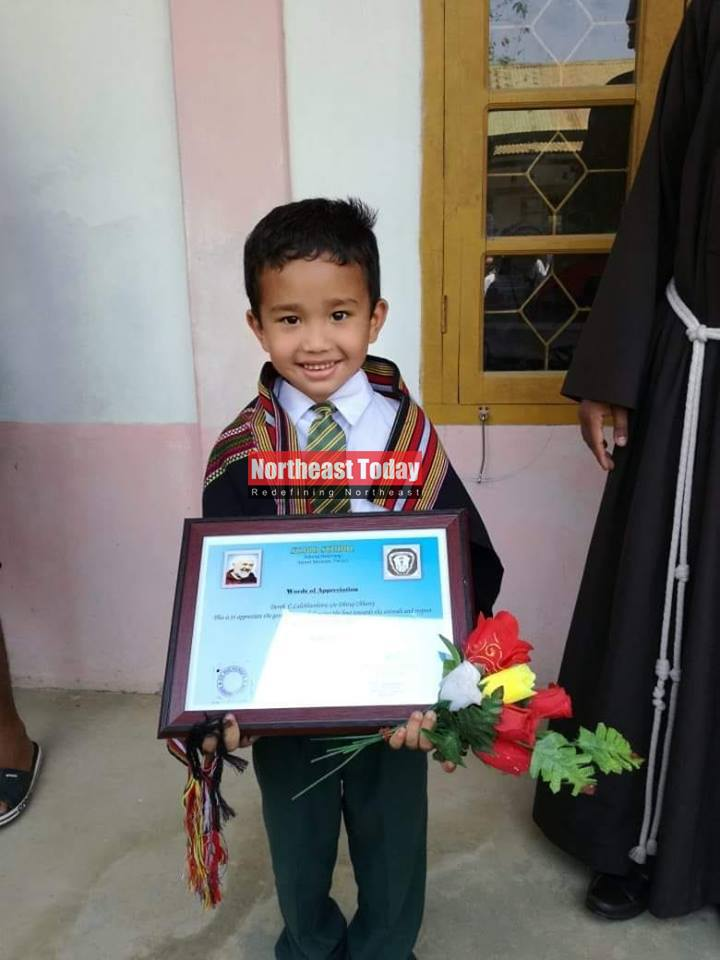 The Little Boy Who Took A Chicken To The Hospital Is Rewarded By His School