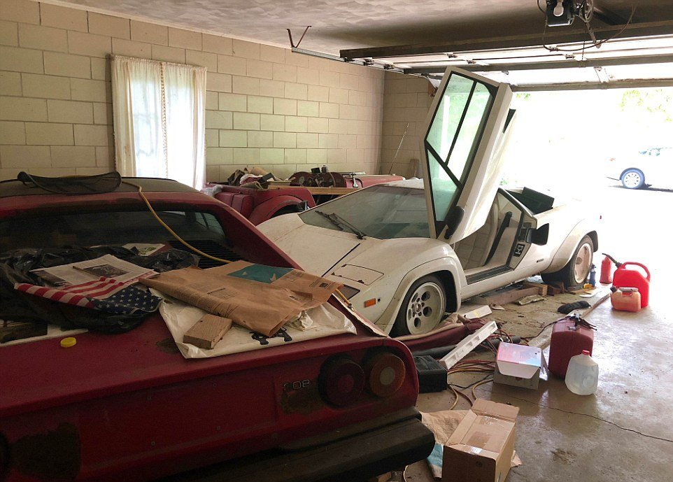 A Student From The US Finds Out There Are Two Hidden In Her Grandma's Garage