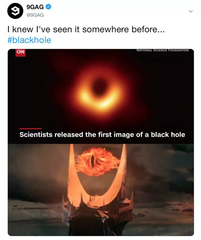 Funniest Meme Reactions To The First Picture Of Black Hole