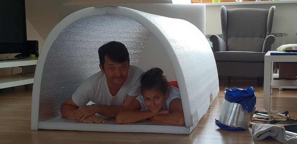 Engineer Builds Igloo Shelters That Retains Body Heat For Homeless People