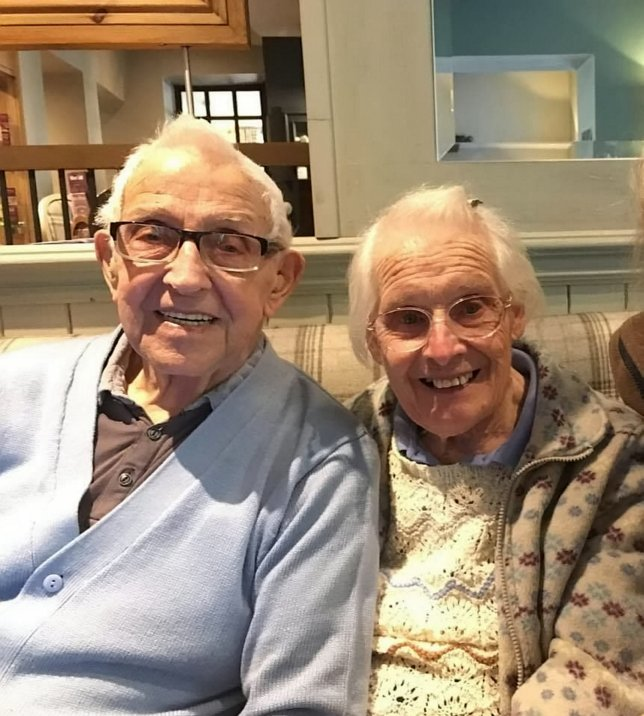 This Lovely Elderly Couple Went To Church On Their 75th Marriage Anniversary To Renew Their Vows