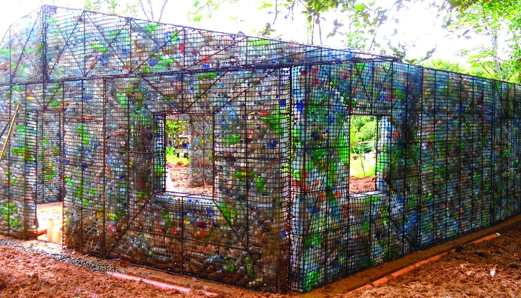 Plastic Bottle Homes