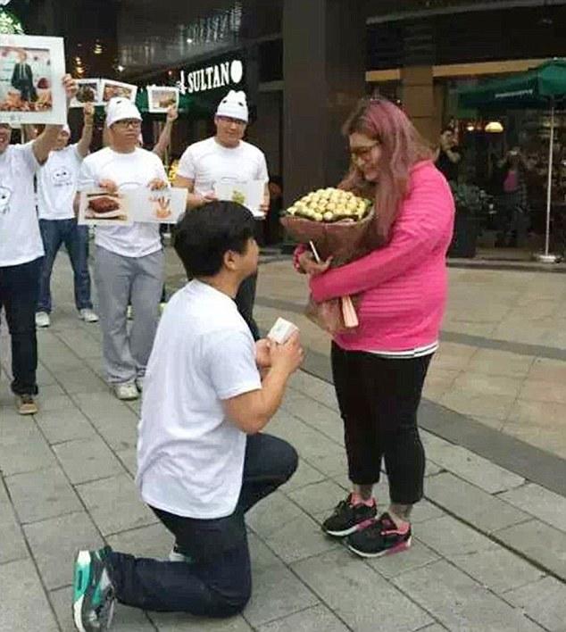 Jealous Boyfriend Fattens Up Girlfriend So No Man Would Approach Her