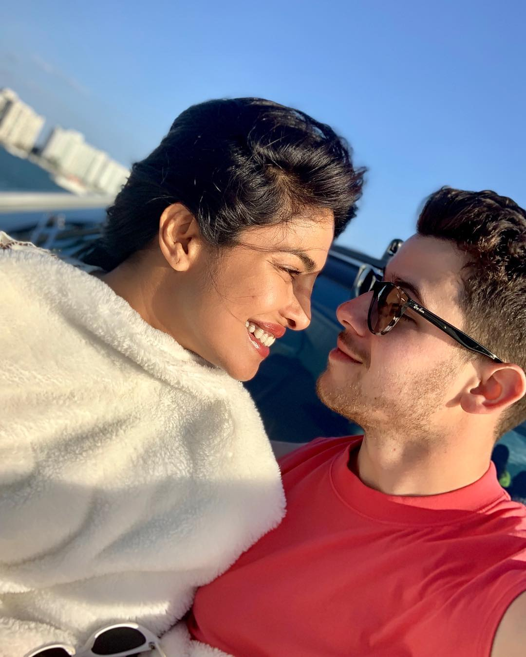 Priyanka and Nick, the hollywood couple wishes easter in instagram pictures