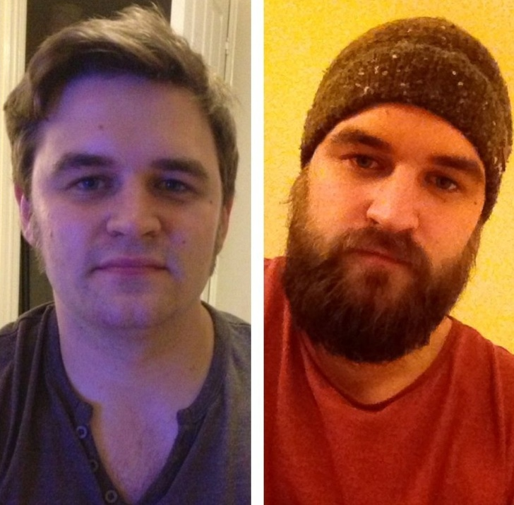 These Pictures Prove That Growing A Beard Can Change Everything