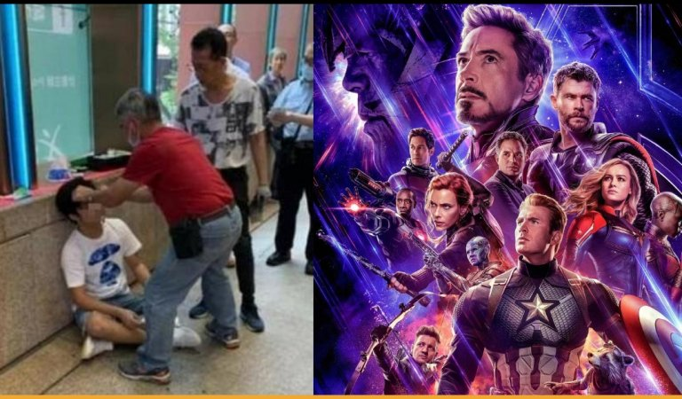 Man Gets Beaten After Shouting Avengers: Endgame Spoilers Outside Cinema