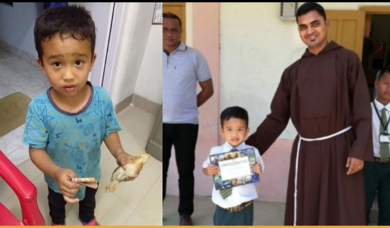 PETA India Honors Mizoram Boy Who Took The Chicken To Hospital After Accidentally Running Over It