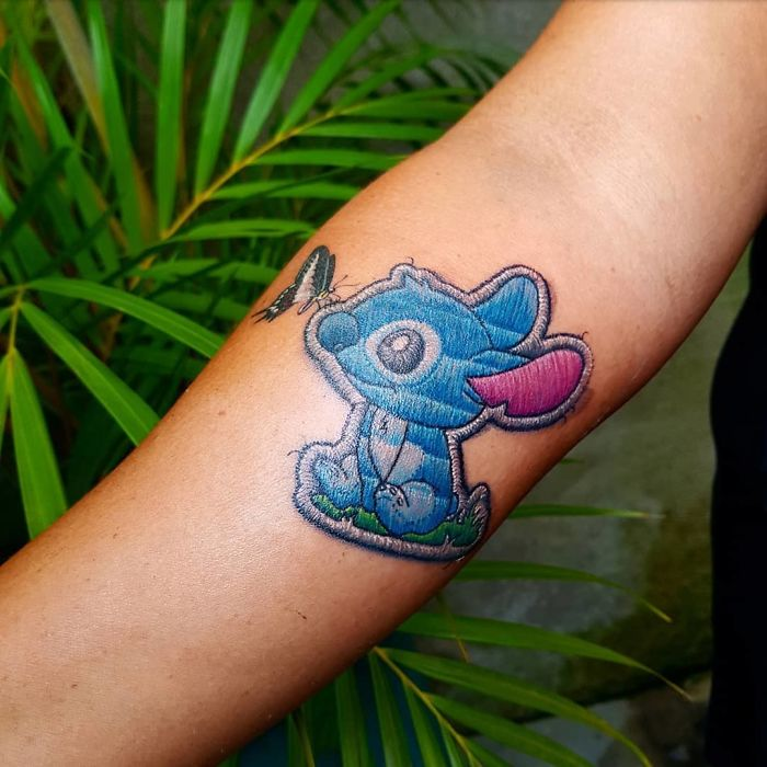 Embroidery Tattoos Are The Next Big Thing