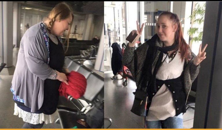 Woman Wears 4 kgs Of Extra Clothes While Traveling To Avoid Extra Baggage Fee