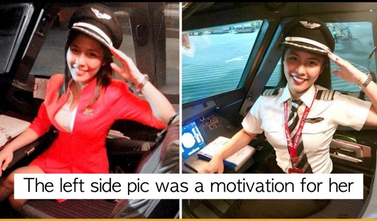This Filipina Pilot Is An Inspiration For All The Girls Who Wants To Fulfill Their Dream