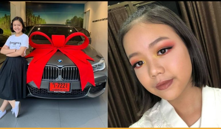 12-Year-Old Girl Buys Herself A BMW From Her Own Earning