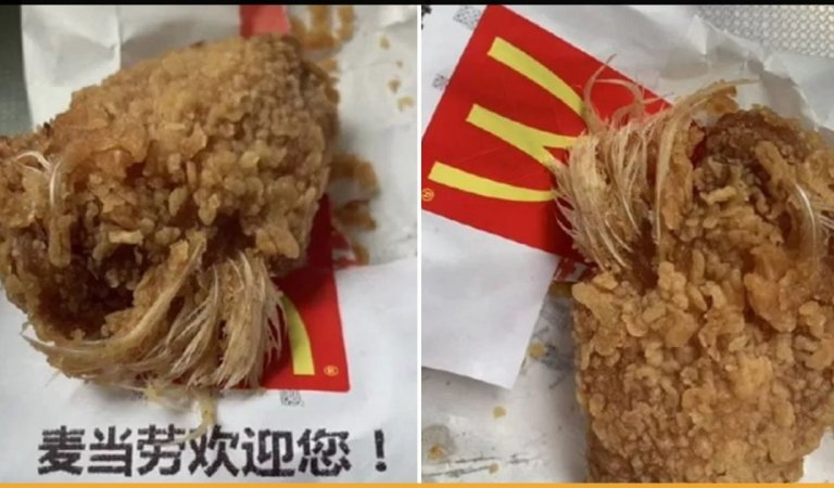 Woman In Beijing Finds Feather In McDonald's Chicken Wings