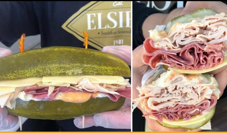 This Restaurant In New Jersey Makes Sandwich Out Of Pickle Instead Of Bread