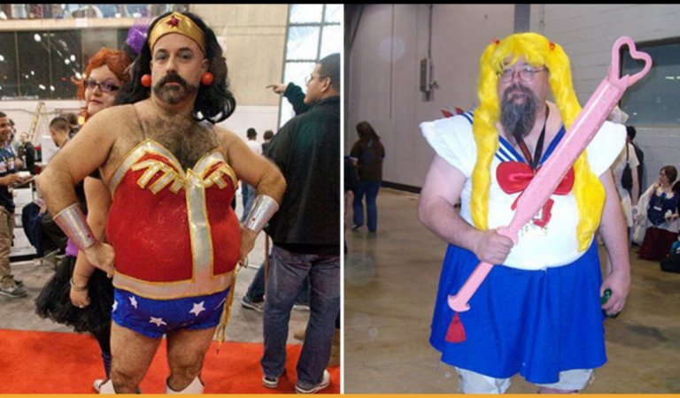 15 Funny And Entertaining Low-Budget Cosplays Of Famous Cartoon Characters
