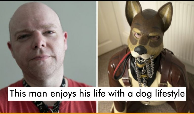 Meet A 37-Year-Old Human Pup Who Likes To Eat, Bark And Live Like A Dog