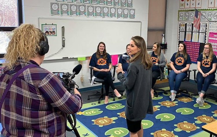 Seven Teachers In The Elementary School Became Pregnant At The Same Time