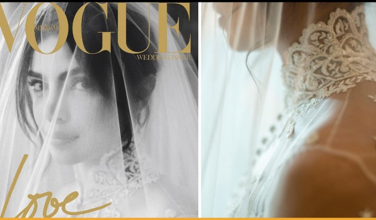 Priyanka Chopra Jonas Looks A Glowing Bride In The Latest Vogue Issue