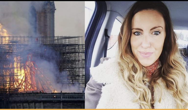 Mother Claims She Saw The Glimpse Of Jesus In The Notre Dame Flames