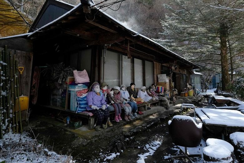 Human-Sized Dolls In The Nagaro Village Of Japan Fill In The Gaps Of Scarce Population