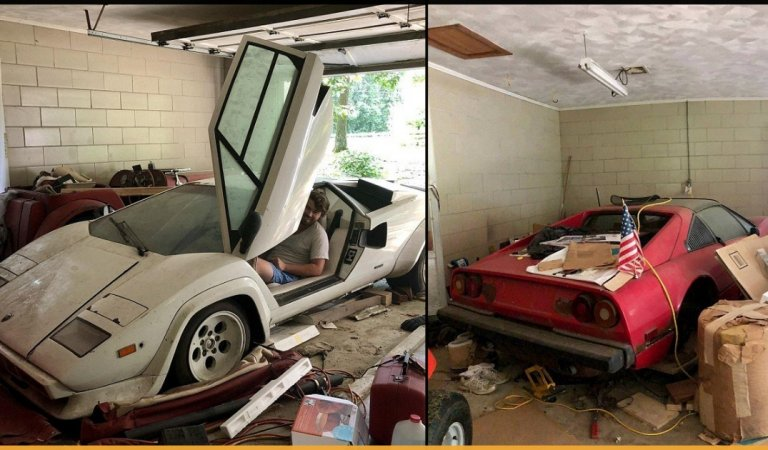 A Student From The US Finds Out There Are Two Rare Supercars In Her Grandma's Garage