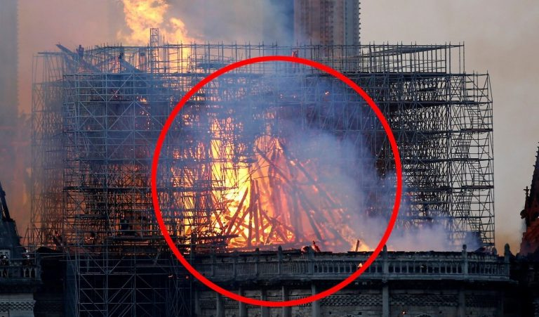 mother claims she saw glimpse of jesus in notre dame fire flames