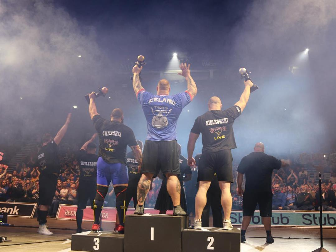 GOT Fame 'The Mountain' Named Europe's Strongest Man For The Fifth Time